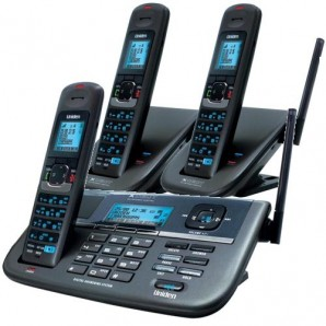 Uniden - XDECT R055 + 2 - XDECT Cordless Phone System