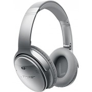 Bose QuietComfort 35 Over-Ear Wireless Headphones (Silver)