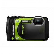 Olympus Stylus TG-870 Tough Camera with Floating Strap (Green)