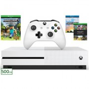 Xbox One S 500GB Minecraft Favourites Console Bundle