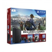 PS4 PlayStation 4 1TB Watch Dogs 2 + Watch Dogs Console Bundle