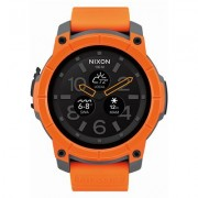 Nixon Mission Android Wear Smart Watch (Orange)