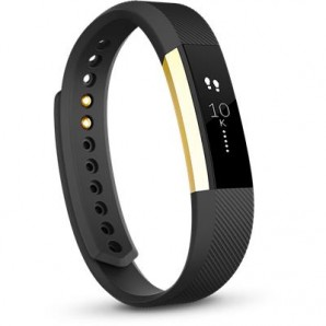 Fitbit Alta Activity Tracker Special Edition (Gold & Black/Small)
