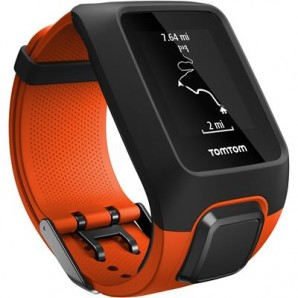 TomTom Adventurer GPS Outdoor Watch with Heart Rate + Music (Orange)