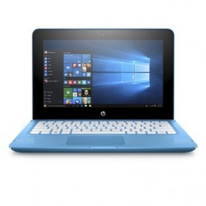 HP Stream X360 11-AB015TU 2-in-1 Laptop with Office 365 1yr Subscription (Aqua Blue)