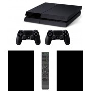 Play Station 4 500GB + Extra Wireless Remote+Universal Media Remote