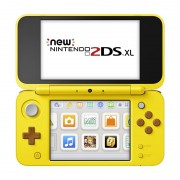 New Nintendo 2DS XL Console Pikachu Edition